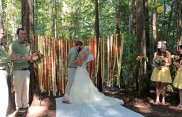 Our Wedding in the woods!